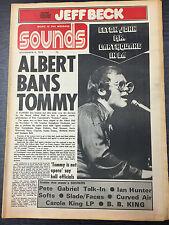 Sounds Magazine, feat Elton John, November 4 1972