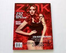 Lydia Hearts Zink Magazine Holiday 2010 New