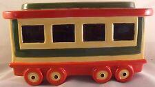 Pfaltzgraff Christmas Heritage Passenger car with lid!   EUC!