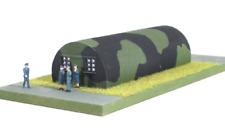 Ratio 558 Nissen Hut (Pk2) Plastic Kit OO/HO Gauge