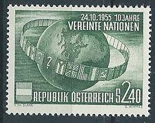 1955 AUSTRIA NAZIONI UNITE MNH ** - A037-2