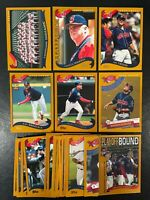 2002 TOPPS CLEVELAND INDIANS TEAM SET (28) CARDS