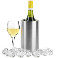 Stainless Steel Wine Cooler Double Walled Insulated Champagne Bucket Beer Wine