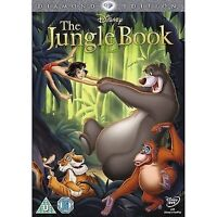 The Jungle Book (Diamond Edition) (2013) DVD NEW (Disney Animated Classic)