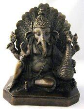 C19th Fine GANESH cast Bronze Figure of the Elephant God