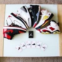 Sneakerhead Deck of Cards with AJ1-AJ13 Retros Poker Cards Hypebeast Gifts