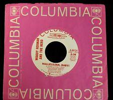 Woody Herman And The Heard Columbia DJ 44124 Hallelujah Baby and The Duck