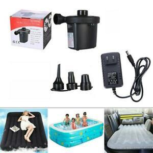 Multi-function Two Way Electric Air Pump XG-668A Inflator And Deflator NIB F/S