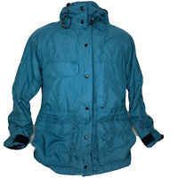 Vintage Solstice Gore-Tex Women's Size XL Heavy Rain Ski Jacket Coat Teal VTG