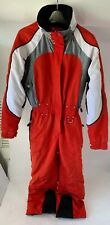 Marker One Piece Red Snow Ski Suit Skiing Snowboarding 1 Piece Size 4 Womens