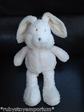"The Little White Company Crème Bunny Rabbit Soft Toy 14"" Tall"