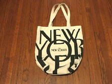 Women's The New Yorker Canvas Tote Bag