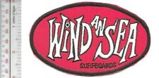 Vintage Surfing California Wind AN Sea Surfboards Promo Patch San Diego, CA Patc