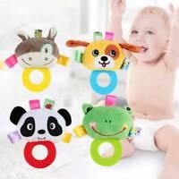 Cartoon Baby Rattle Toys Hand Bells Plush Toys Newborn Educational Toys