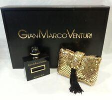 Gian Marco Venturi Donna Classico Nero Conf. La Soiree EDT 50ml + Pochette Raro