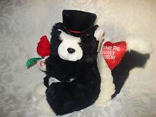Dan Dee Valentine Singing Animated Plush Stuffed Squirrel /Sugar Pie Honey Bunch