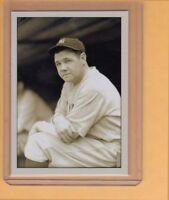 Babe Ruth NY Yankees signature photo card Plutograph serial numbered /200