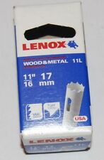Lenox holesaw 17mm wood & metal