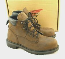 """New RED WING 2206 Size 11 H Safety Toe EH Men's 6"""" Work Boots RETAIL $195"""