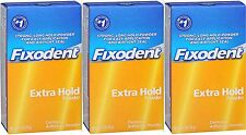Fixodent Denture Powder Extra Hold 2.70 oz (Pack of 3)