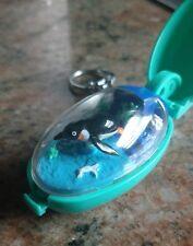 Takara Pocket Critters Penguin World Self Winding Motion Key Ring 1993 Keychain