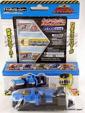 """New Ressha Sentai ToQger Train Figure """"Light Blue Tank"""" Adhesive Bandages x 3"""