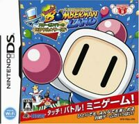 DS Touch! Bomberman Land Star Bomber no Miracle World Nintendo Japan