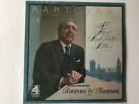 Mantovani And His Orchestra ‎ALL TIME ROMANTIC HITS 1975 2 LPs factory SEALED