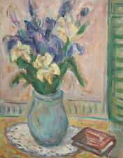 1998 Still Life with flowers oil painting signed