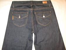 Paige Premium Jeans Hillhurst Classic Rise Wide Leg Trousers Flap Pocs 27 NEW
