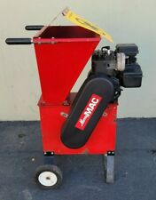 Merry Mac 5 Hp Red Wood Chippershredder Briggs Amp Stratton Used 9963
