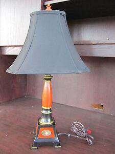MINNESOTA VIKINGS NFL Resin Table Lamp Light NEW In Box 2' TALL Memory Company