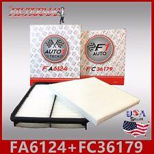 FA6124 FC36179 49250 49368 ENGINE & CABIN AIR FILTER: 12-17 AZERA & 11-15 OPTIMA