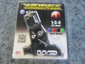 WORKS CONNECTION ELITE PERCH  / Thumb Wheel / Yamaha Lever  (BLACK)
