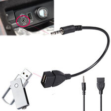 Interface Extension Cord Aux Cable USB Connector Car Converter Audio Adapter