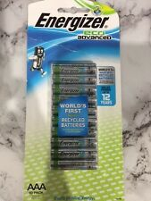 Energizer ECO Advanced AAA Batteries 10 Pack WORLD 1st