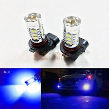 2x Blue 9005 15w High Power Bright Car LED Bulbs 5730 15 SMD High Beam Headlight
