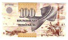 Isole Faeroe Island 100 corone  2011  FDS  UNC   pick 30 lotto 2595