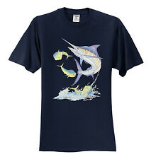 NEW! SWORDFISH Pointy Nose Fish in the Ocean Beach Vacation T-shirts