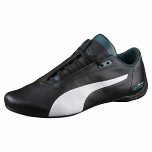 NEW* MENS PUMA MERCEDES MAMGP FUTURE CAT AMG SHOES WHITE BLACK TEAL 305942 02