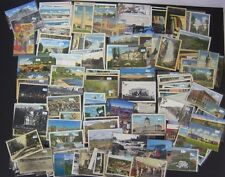 Lot 175 U.S. Vintage Postcards CA, MI, SD, CO, MN, WI, IO, ID, IL, NY some RPPC