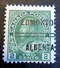 CANADA (EDMONTON)   PRECANCEL STAMP #3-107**  MNH CAT.$12.50 (as used)