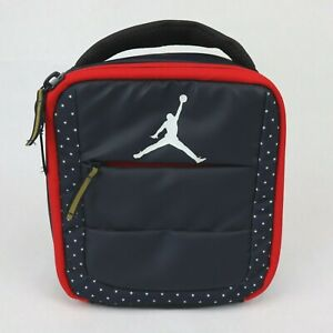 Nike Air Jordan Jumpman Cooler Lunch Bag Tote Insulated Navy White Red
