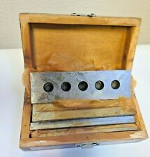 Hdt International Precision Parallel Set - Matched Pairs Vice New In A Wood Box