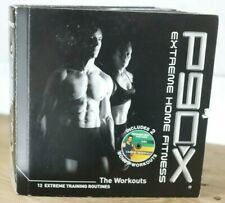 P90X Extreme Home Fitness Training Routines Workout DVD Set *Missing 1 Disc E8