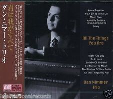 """""""Dan Nimmer Trio - All The Things You Are"""" Japan Venus Records Jazz CD New"""