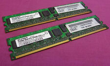 KIT 1GB Elpida ebe51rd8agfa-4a-e PC2-3200R ecc 400 MHZ 240-pin DDR2 memoria del server