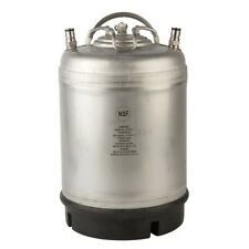 Ball Lock Homebrew Cornelius Keg - 2.5 Gal Draft Beer Empty Corny Tank - Brewing