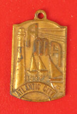 1937 MEDAL ATLANTIC CITY NEW JERSEY SAILING LIGHTHOUSE AMA AMERICAN MOTORCYCLE !