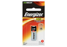 Single Energizer A23 /GP23a / 23A / E23A 12v Energizer Alkaline Battery